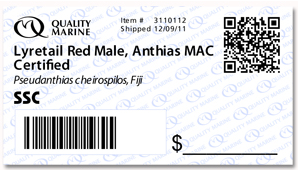 QR Code Tag from Quality Marine