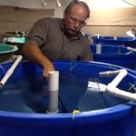 Dan Underwood speaking at the 2012 Marine Breeder's Workshop
