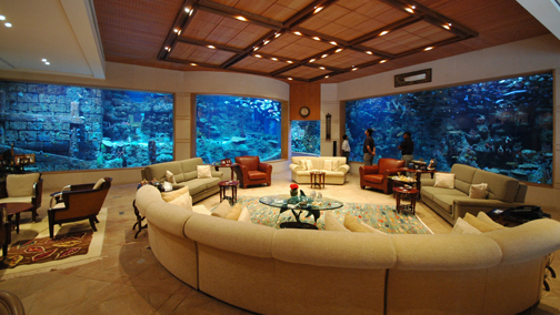 Mega home aquariums of the middle east part 2 - Home aquarium designs ...