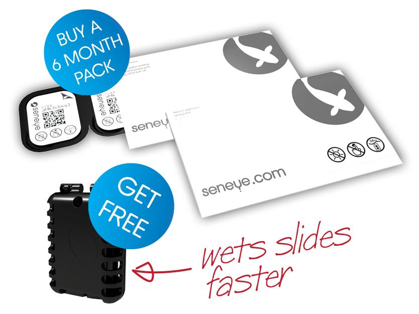seneye soaking slides free