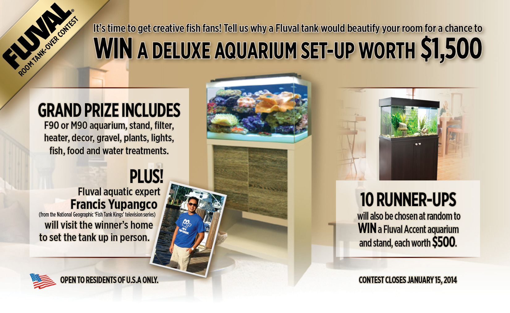 "Fluval ""Room Tank-Over"" Contest!"