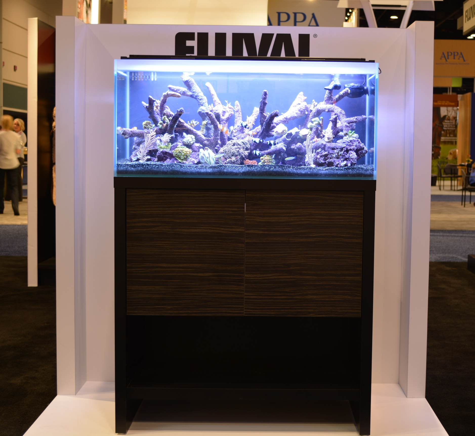 36 gal. Fluval M-90 Reef Aquarium