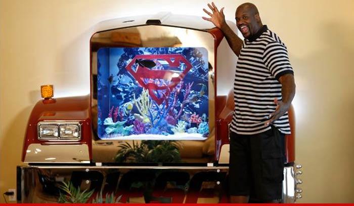 How Big Is Shaqs Bed >> Shaq's Awesome Big Rig Tank   Reefs.com