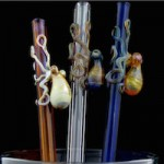 Reefs In Art: Glass Cephalopods. Grab a Straw and Drink This One In