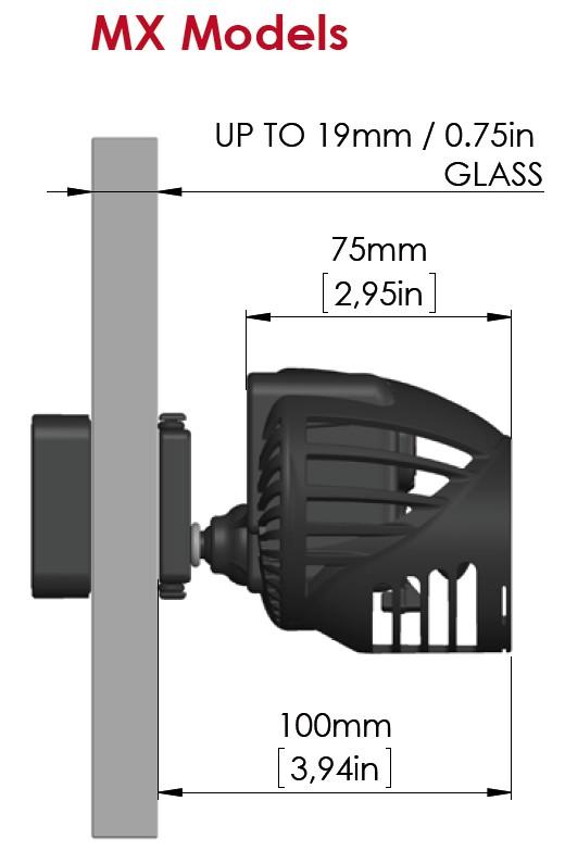 Mx models dimensions