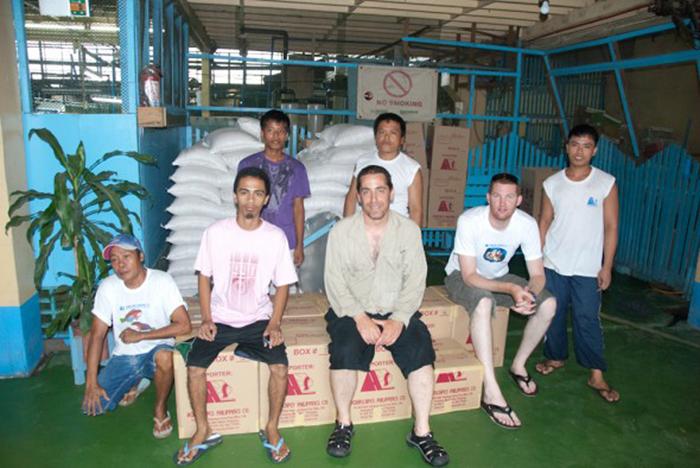 Matt, Rich and the Aquascapes crew.
