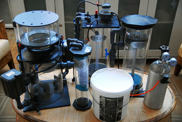 Just some of the watt-intensive equipment used to maintain a modern SPS tank.