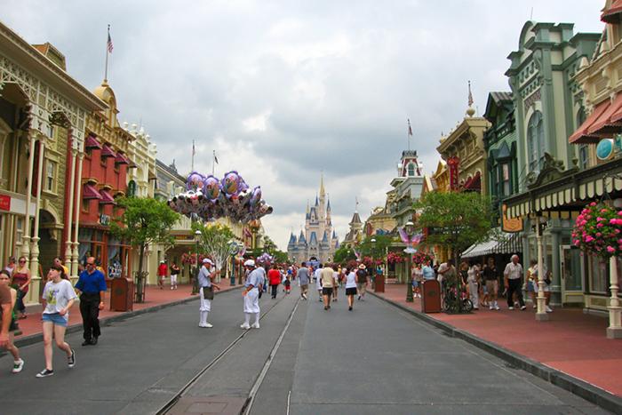 Disneyland, USA.