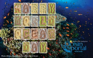 coral letters