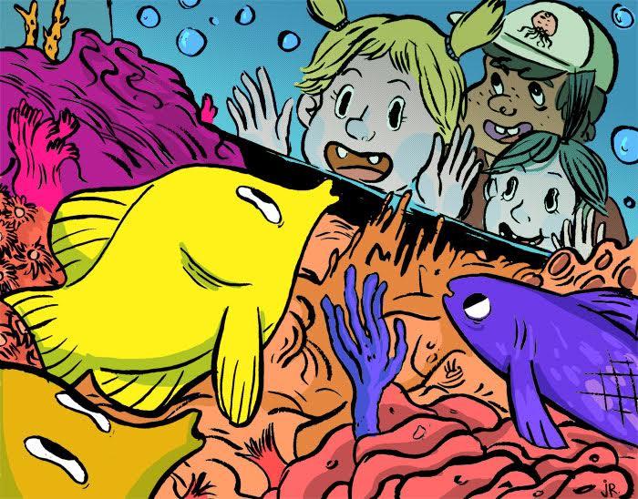 Fish fish fish.