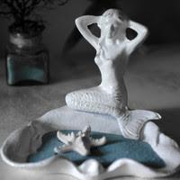 mermaid jewelery holder