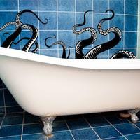 octopus bath art