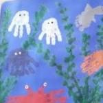 Reef Kids: Handprint Ocean Scenes