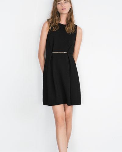 black dress zara davana - reefs