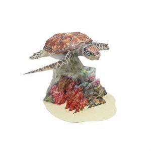 happy paper sea turtle davana - reefs