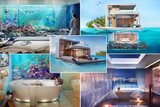 Dubai S Quot The Floating Seahorse Quot Reefs Com