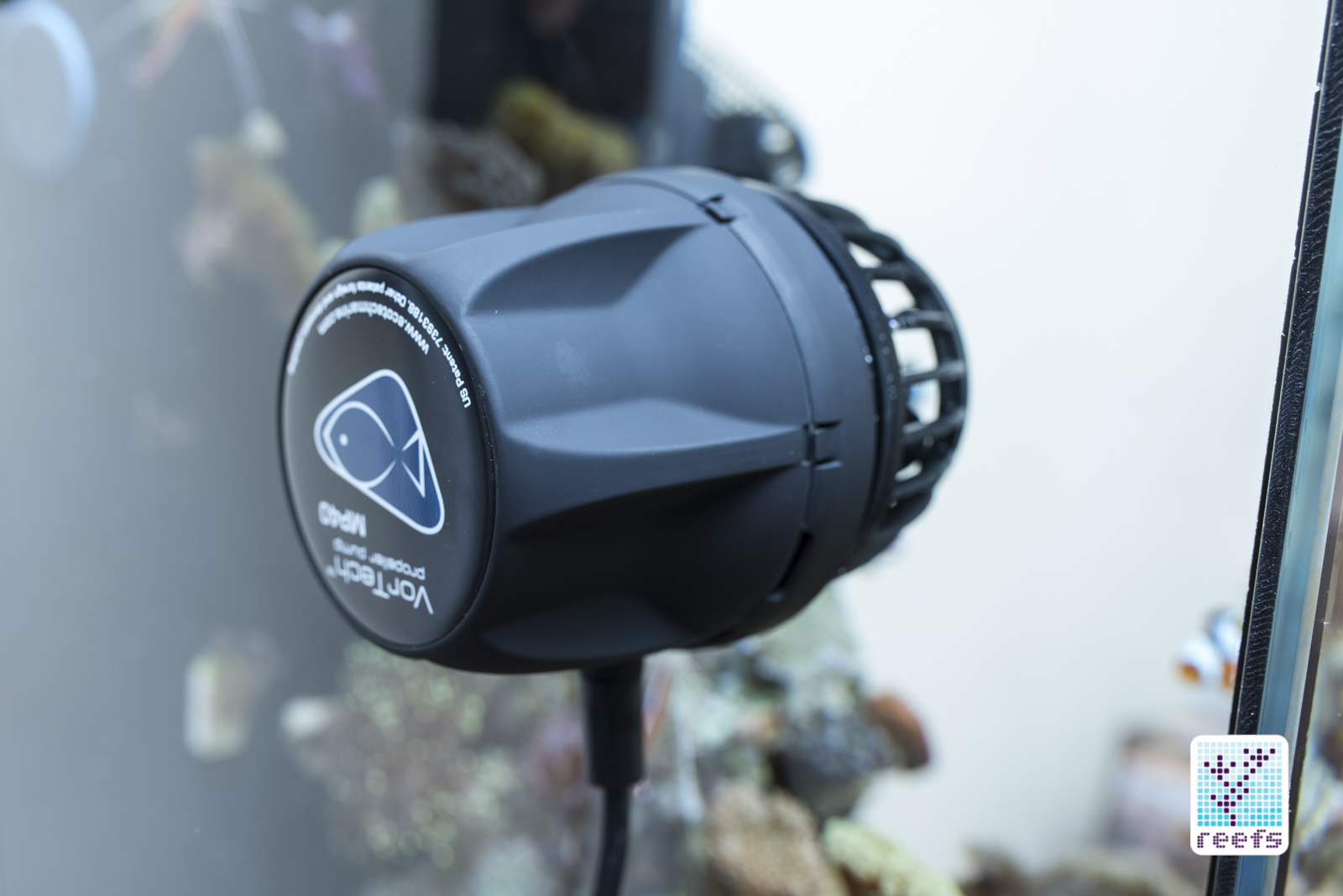 Vortech MP40 qd in aquarium