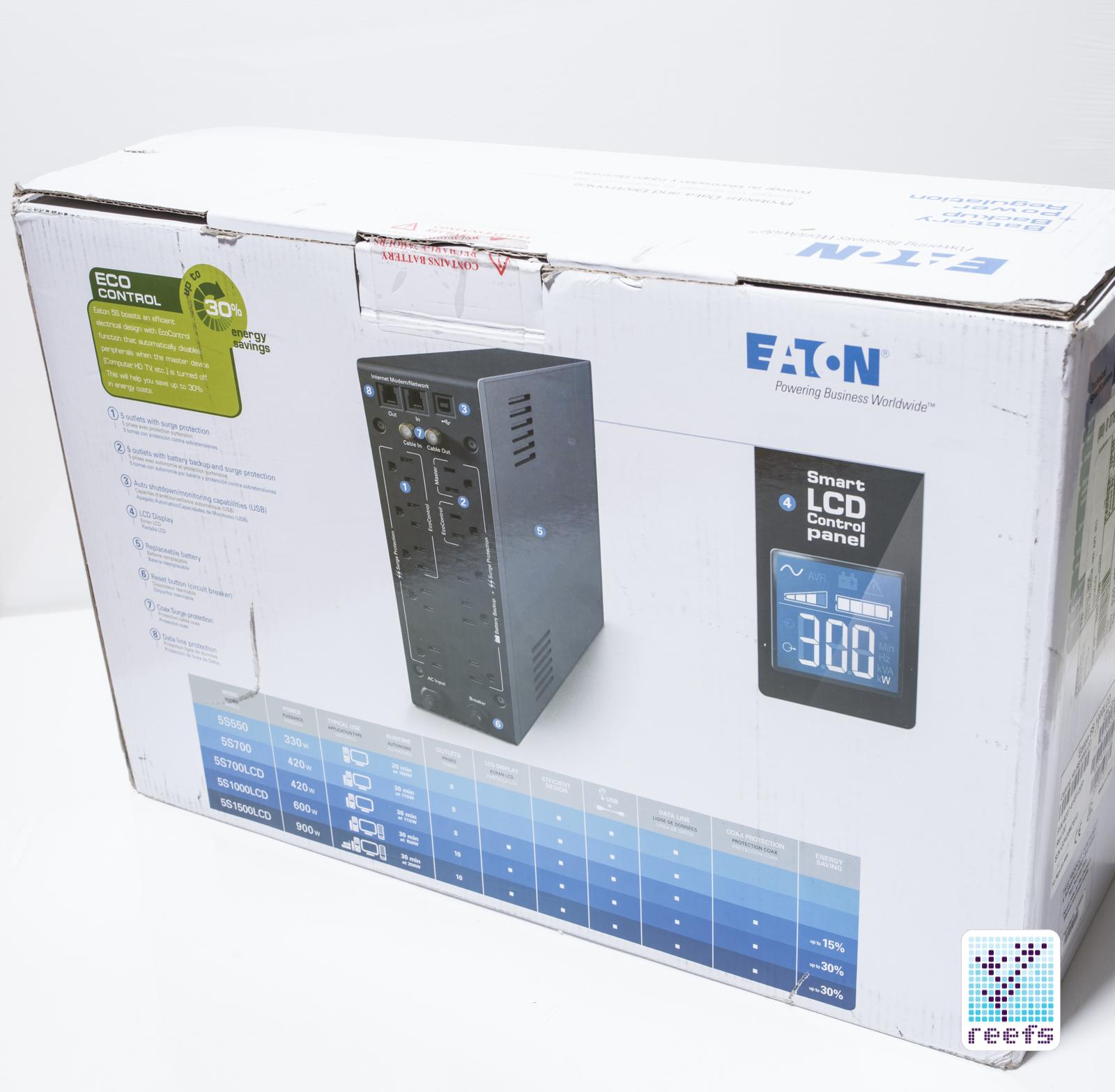 Eaton UPS unboxing