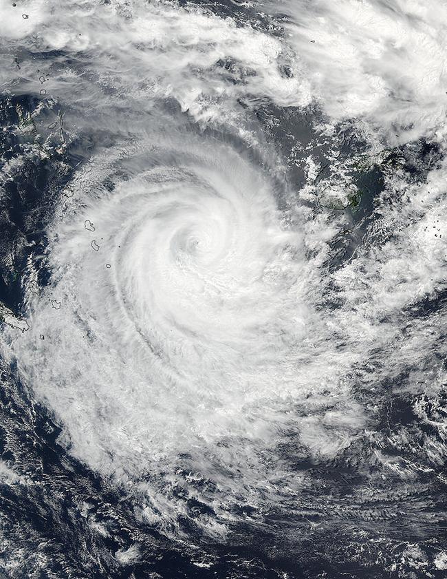 Cyclone Winston. Credit: NASA, Creative Commons.