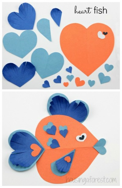 heart fish - reefs