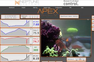 Neptune Apex Fusion's powerful logging tool