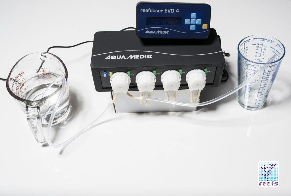 Aquamedic Reefdoser Evo 4 testing