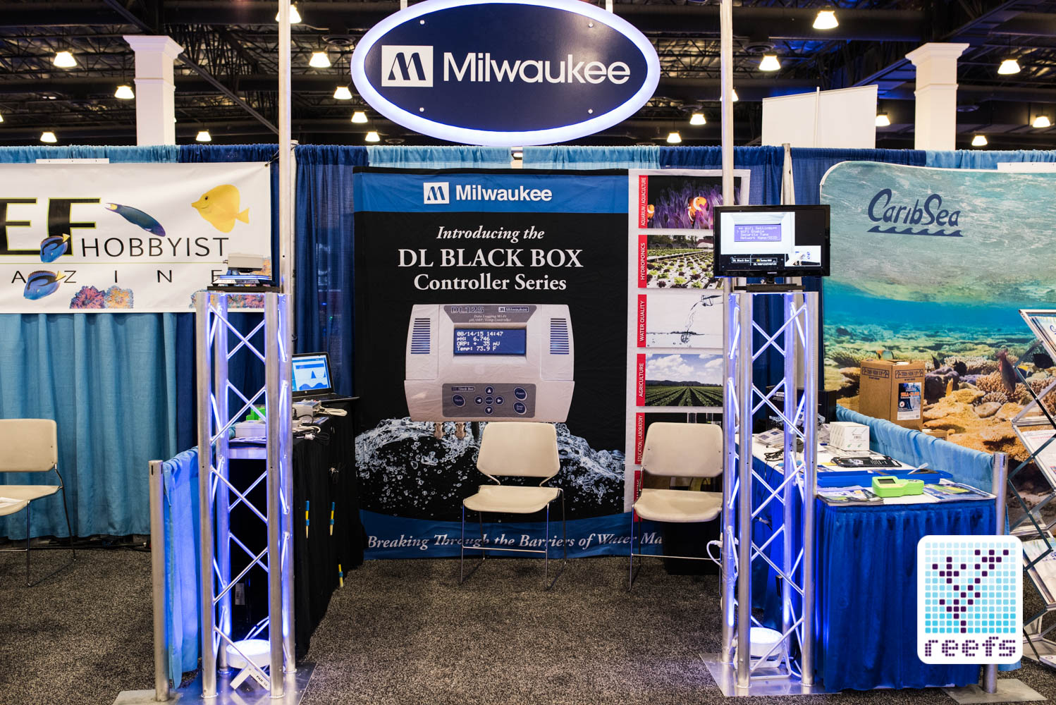 Milwaukee booth at 2016 MACNA in San Diego