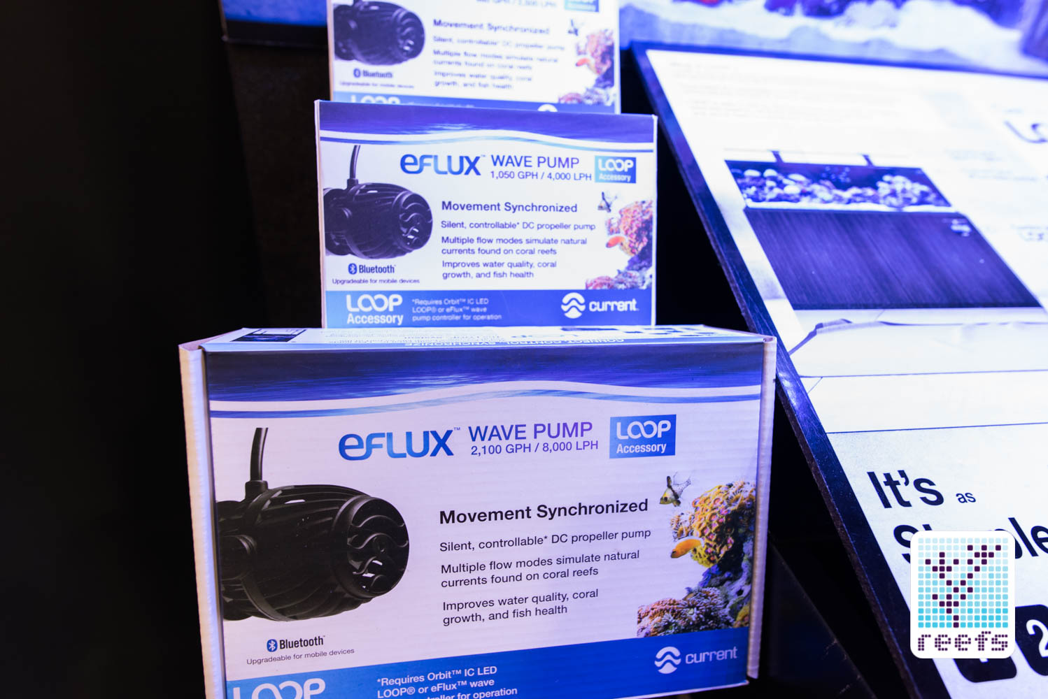 Current Loop eFlux wave pumps