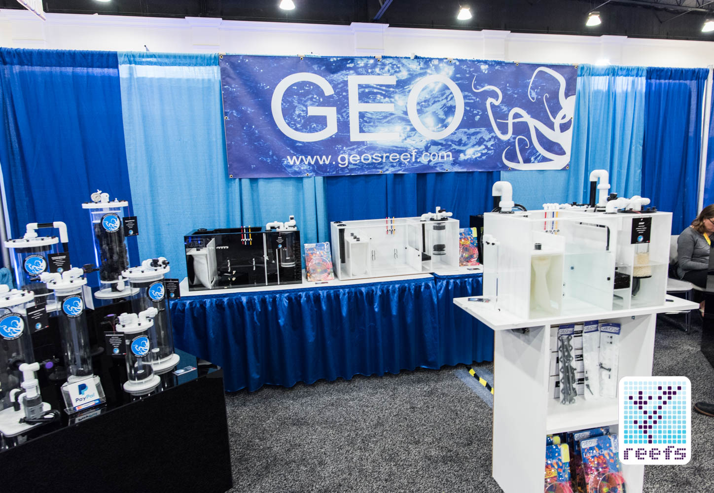 GEO's Reef booth at MACNA 2016 in San Diego