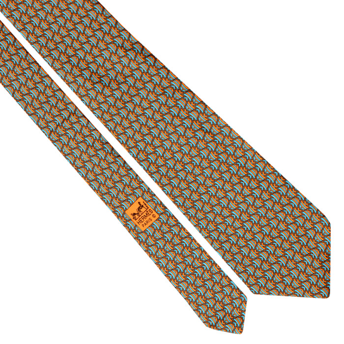For the well-heeled aquarist, how about this vintage tie from Hermès? Available at ebay for $128.95