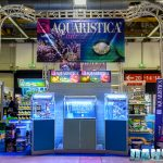 Zoomark 2017: Aquaristica booth with biotopes