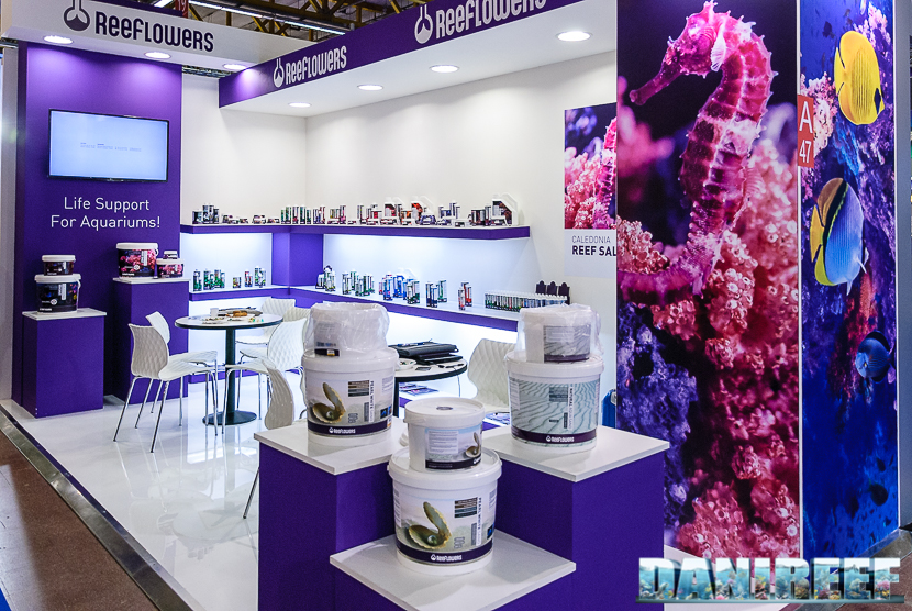 reeflowers booth