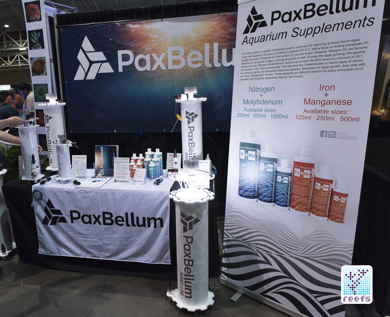 Pax Bellum ARID Algae Reactor