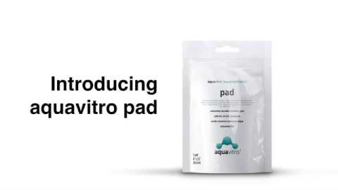 aquavitro cleaning pad