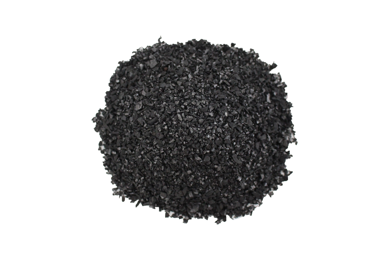 what is activated carbon made of