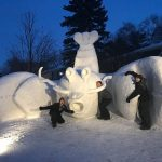 Snow Sculpture Fundraising Success!