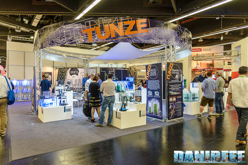 tunze booth interzoo