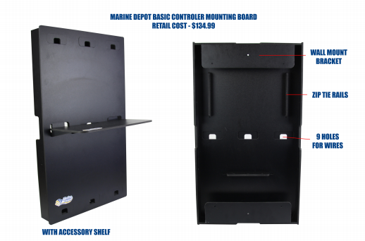 marine depot controller mounting board