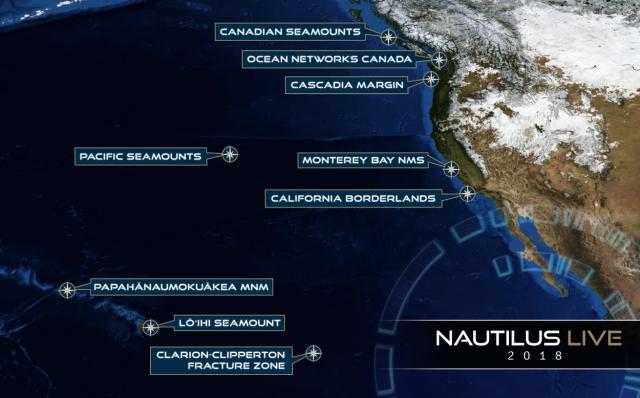 nautilus live 2018 map