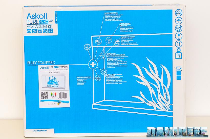 201803 acquario marino, askoll, Pure Marine XL HC Led, scatola 01 Copyright by DaniReef