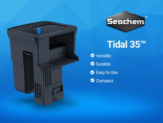 New Tidal 35 Aquarium Power Filter Reefs Com