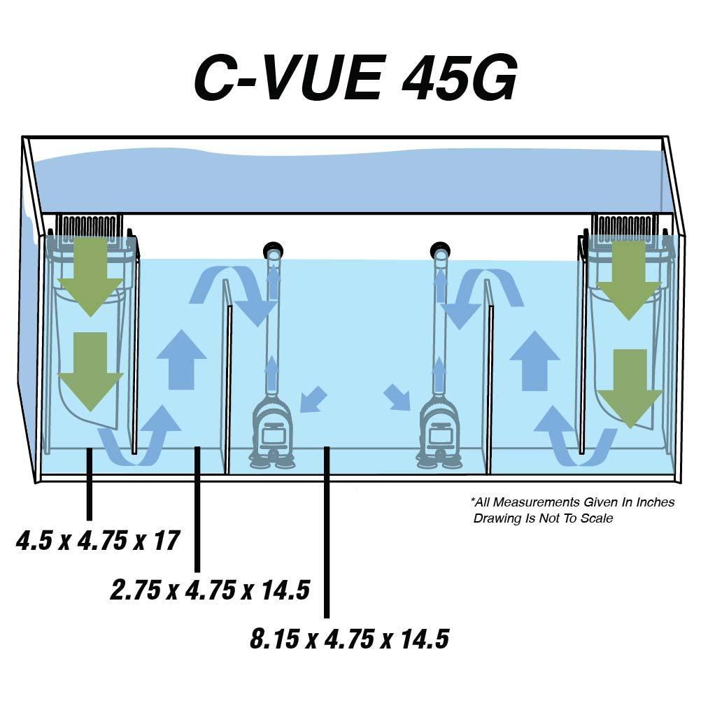 Cobalt Aquatics C-Vue Aquarium Kit: The Definitive Review   Reefs.com