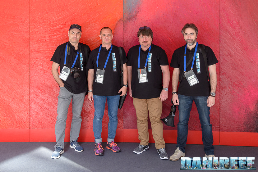 Danireef/Reefs.com Staff at interzoo 2017: Lumaz, DaniReef, Zanna Bianca and HkH.2003