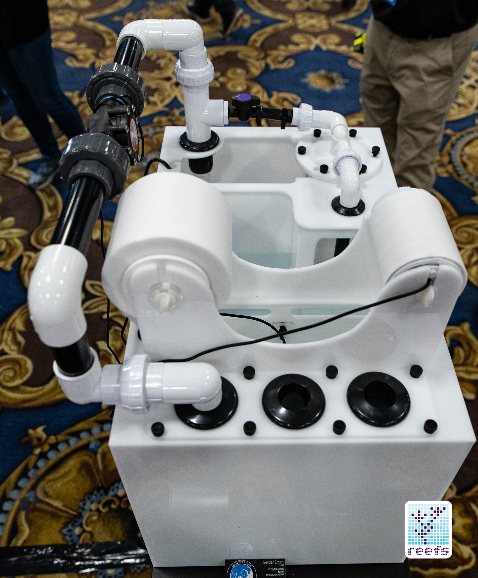 Geo's Reef Automatic Filter Roll Sumps