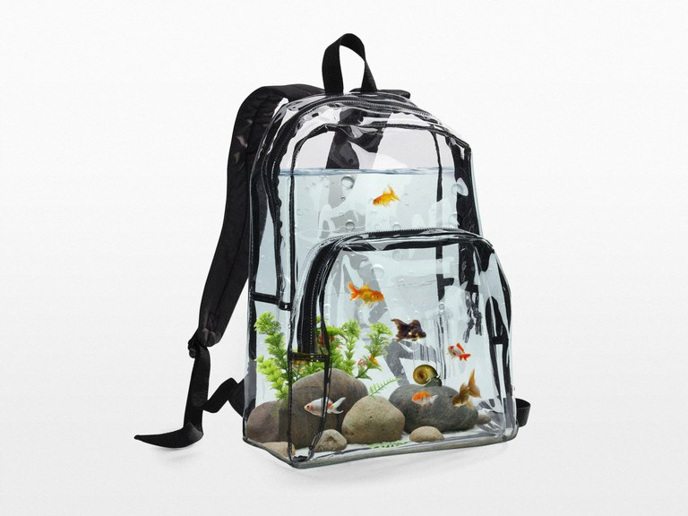 A $500 Aquarium Backpack?!