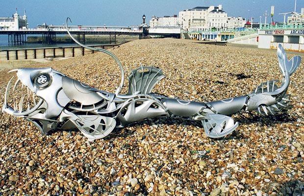 Hubcap Art by Ptolemy Elrington