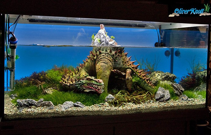 Oliver Knott's Dragon Hunter Scape Planted Aquarium